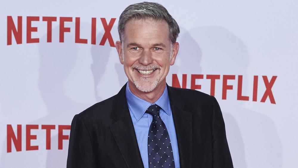 Reed Hastings ideatore di Netflix
